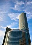 деловый центр зданий стоковые фото