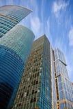 деловый центр зданий стоковая фотография rf