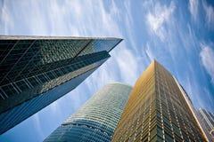 деловый центр зданий стоковое фото