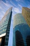 деловый центр зданий стоковые фотографии rf