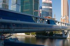 Деловый центр Москва международный, Moscow-Город Стоковая Фотография