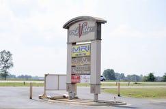 Деловый центр Laville, Марион, Арканзас стоковое изображение rf