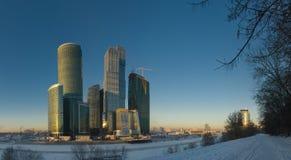деловый центр moscow Стоковое Фото