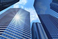 дело зданий иллюстрация вектора