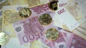 Дело cryptocurrency мира Минирование и торговая операция Bitcoin видеоматериал