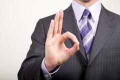 дело gestures человек Стоковые Изображения RF