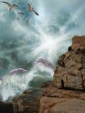 дельфины Стоковые Изображения RF