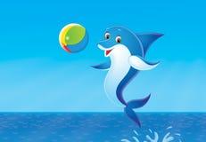 дельфин иллюстрация вектора