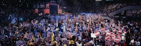 Демократичный общенациональный съезд на Madison квадратном g Стоковые Изображения