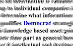 демократ Стоковое Изображение