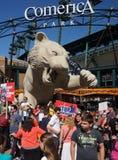 Демонстрация в Детройте Стоковые Изображения RF