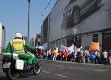 демонстрация дня berlin может Стоковые Изображения RF