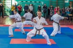 Демонстрация инструкторами Стоковые Фото