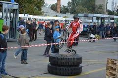 Демонстрация 3 искусства велосипеда Стоковая Фотография RF