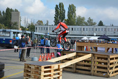Демонстрация 6 искусства велосипеда Стоковое Фото
