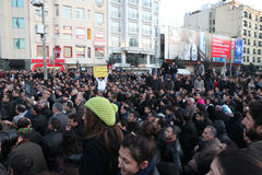 демонстрация курдская Стоковые Изображения RF