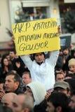 демонстрация курдская Стоковое Фото