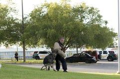 Демонстрация полиции K-9 Стоковая Фотография RF