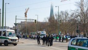 Демонстрация протеста против диктатуры Bashar al-Assad Стоковое Изображение RF