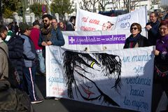 Демонстрация против крайней правой группировки 81 стоковые изображения rf