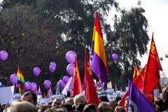 Демонстрация против крайней правой группировки 84 стоковые изображения