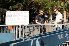 Демонстрация для стопа геноцид Стоковая Фотография RF