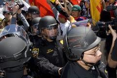 демонстрация francisco свободный san Тибет Стоковые Фотографии RF