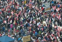 демонстрация malaga Стоковое Фото