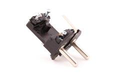 Демонтированная электрическая штепсельная вилка Стоковое Изображение RF