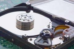 Демонтированный жёсткий диск Стоковое Фото