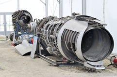 Демонтированный реактивный самолет Стоковое Фото