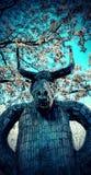 Демон зимы Стоковое Изображение
