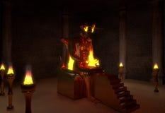 Демон Moloch стоковое фото rf