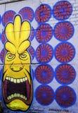 Денвер, граффити Колорадо Стоковое Изображение RF