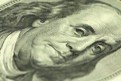 Деноминация 100 долларов американца Стоковое Изображение RF