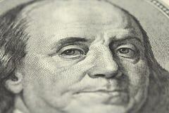 Деноминация 100 долларов Стоковые Фотографии RF