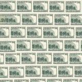 Деноминация 100 долларов Стоковые Изображения