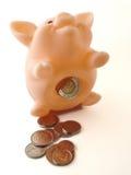 деньги банка 2 piggy Стоковая Фотография