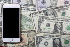 Деньги, билеты и движение наличных денег Стоковые Изображения