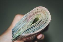 Деньги важны в жизни стоковые изображения rf