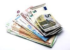 Деньги, валюта евро Стоковое Изображение RF