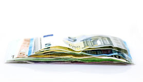 Деньги, валюта евро Стоковое Фото