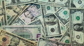 Деньги - валюта, доллар США - банкноты предпосылки стоковое фото