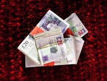 деньги Великобритания Стоковые Изображения