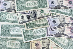 Деньги, двигатель экономики Стоковая Фотография RF