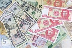 Деньги, двигатель экономики Стоковое фото RF