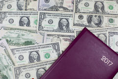 Деньги, двигатель экономики Стоковое Фото