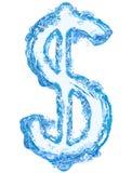 Деньги воды Стоковое Фото