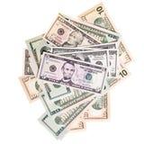 деньги вороха Стоковые Фотографии RF