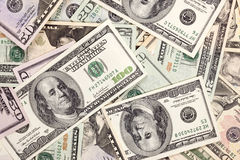 деньги вороха Стоковое Изображение